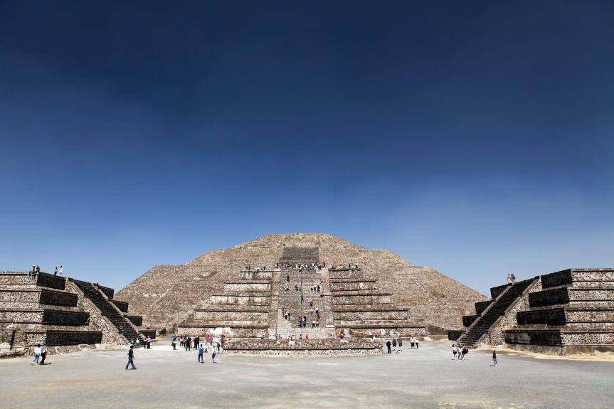 Tam, gdzie ludzie stają się bogami :: Mexico City iTeotihuacán