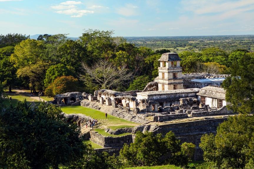 Meksyk :: Palenque, miasto w środkudżungli