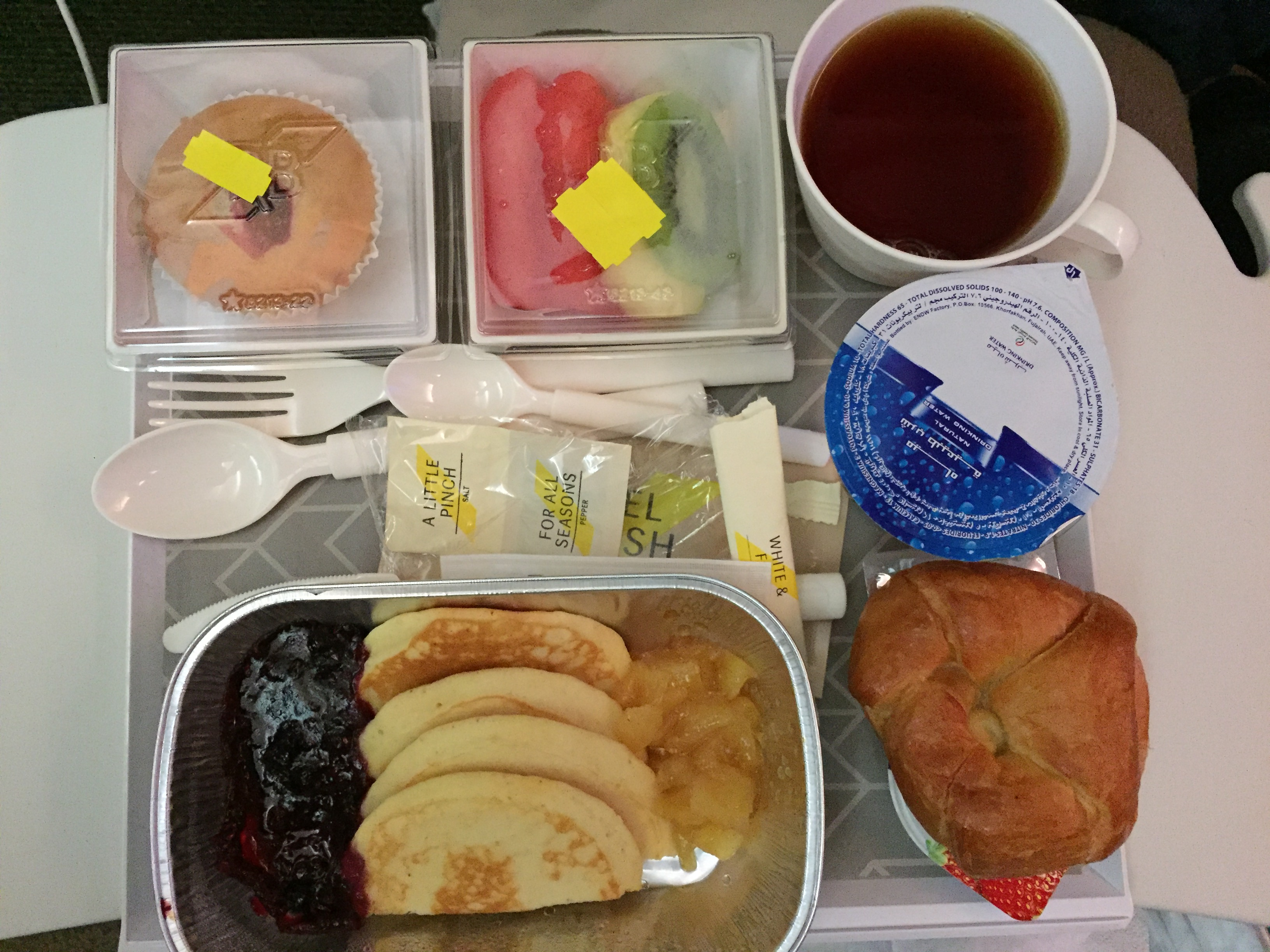 Słodka wersja śniadania w Royal Brunei